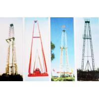 Vertical Shaft Core Drilling Rig Mast / Straight And Slanting Drill Tower Manufactures
