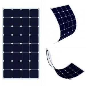 China JYG wholesale SunPower flexible solar panels photovoltaic12v-18V 100-120w on sale