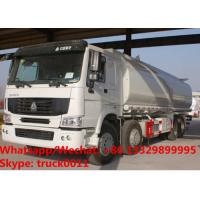 SINO TRUK HOWO 8x4 LHD/RHD water tank truck,water deliverytruck,water bowser truck for sale, cistern tank truck Manufactures