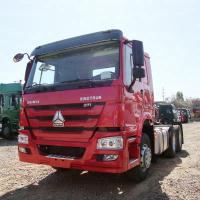371hp Tractor Head Truck 4x2 With Air Conditioner Manual Transmission Type Manufactures
