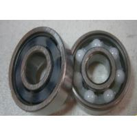 High Precision SI3N4 Steel Hybrid Ceramic Bearing For Motorcycles / Bycicles Manufactures