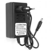 12.6V 2A Li-ion battery charger,ac dc power adapter for battery pack,black color,custmized DC connector Manufactures