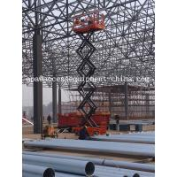 12m Self Propelled Electric Scissor Lift with CE Manufactures