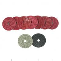 Bright Red Diamond Dry Wet Polishing Pads Manufactures