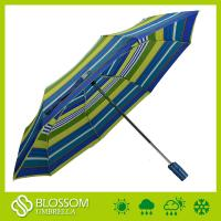 China Colourful Customer Printing, Matching Color Handle, Windproof Automatic Fold Umbrella on sale