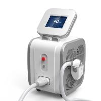 China Portable 808nm Diode Laser Hair Removal Machine 12mm * 12mm Spot Size on sale