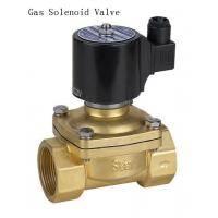 Miniatur NPT Thread 1 Inch Solenoid Gas Valve For Petroleum Gas / Natural Gas Manufactures