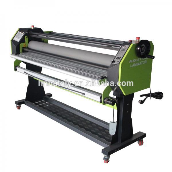 Automatic 1600 wide format hot laminator/cold laminating machine