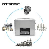 20 - 80℃ Heating Manual Ultrasonic Cleaner 2MM SUS304 Tank AC110 - 120V 60Hz Manufactures