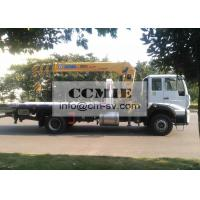 Telescopic Truck Mounted Crane Good Toughness With Platform Xcmg Sq8sk3q Manufactures