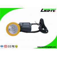 Buy cheap 15000 Lux High Beam Mining Cap Lamp Miners Headlamp , Explosion Proof IP68 from wholesalers