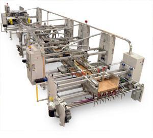 China automatic carton box gluing machine on sale