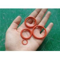 Quality AS568 compression molding rubber oil seals Small rubber Silicone O Rings for sale