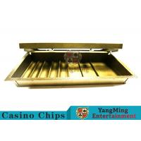Casino Dedicated 1 Layer Poker Chip Case Classic Style With Double Lock Manufactures