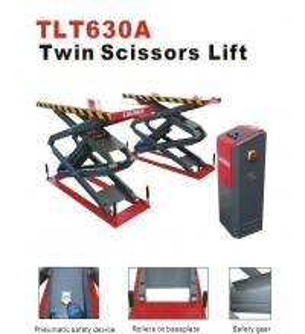 3T TLT630A Double Scissor Car Lift Auto Workshop Equipment Manufactures