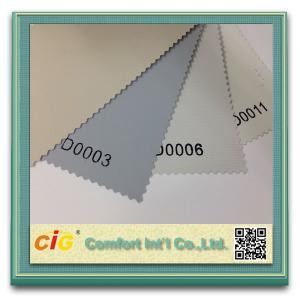 Sunscreen Shading Fabric Roller Blind Modern Curtain Fabric , Modern Curtain Fabric Manufactures
