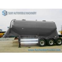 China 3 Axle Conoid Dry Bulk Tanker Trailer 32 Cubic Meter High Performance on sale