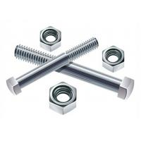 M6 M10 High Tensile Stainless Steel Bolt with Sandblast / Anodize and Passivated Manufactures