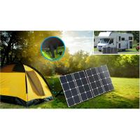 China IP67 Foldable Solar Charger , Fold Up Solar Panels PV Modules 18v 32 Cells 110w on sale