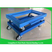 Platform Truck Plastic Moving Dolly for Office / Plastic Dolly Cart Manufactures