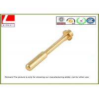 Professional Precise High Speed Brass Shaft NC Machining Parts Manufactures