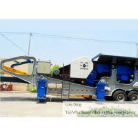 Mining Quarry Mobile Crushing Equipment For Construction Waste Recycling Manufactures