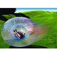China Amazing Outdoor Inflatable Toys , Giant Human Inflatable Zorb Ball EN71 on sale