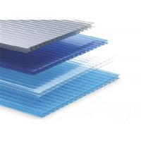 Two Layer Twin Wall Polycarbonate Sheet Sunroom Ceiling Panels Sunshade Awning Manufactures