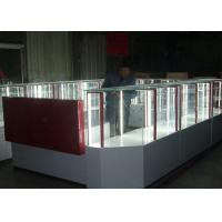 Pre - Assembled Structure Cell Phone Accessories Kiosk / Store Display Fixtures Manufactures