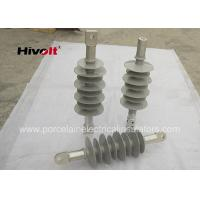 27kV Special Silicone Rubber Insulator , Silicone Composite Insulators Grey Color Manufactures
