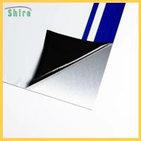 China Mirror Finish Stainless Steel Protective Film Low Tack Black & White Protection Film on sale