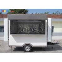 Convenient  Electric Mobile Concession Trailer High Visibility Tail Light Signal System Manufactures