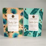200g customized airtightbody scrub instant coffee sachet biodegradable coffee/tea packaging bag Manufactures