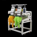 9 Needles Multi Head Computerized Embroidery Machine 8.0 Inch Color Monitor