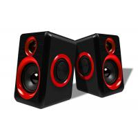 China USB Connecting 2.0 PC Speakers For Music / Gaming / Movies Easy Operation on sale