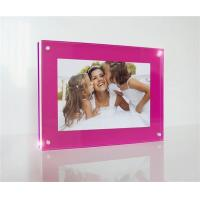 customized high grade acrylic photo frames wholesale Manufactures