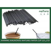 Coffee Paper Cup Hot Beverage Straws Heat Insulation With SGS Approval Manufactures
