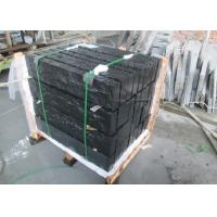 Paving Black Pearl Granite Tiles , 26.3MPA Flexural Strength Black Granite Slab Manufactures