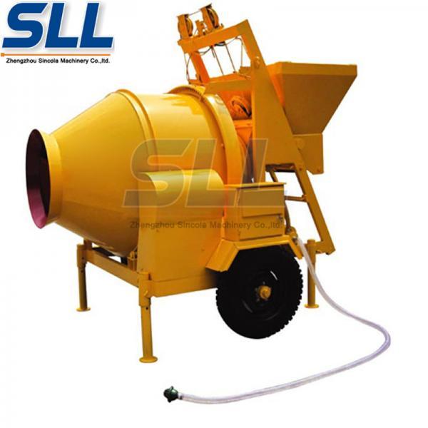 Quality Automatic 750 Liter Diesel Concrete Mixer , Large Capacity Hydraulic Concrete Mixer for sale