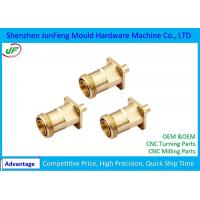 Customized CNC Brass Parts PDF Drawing Format  ISO9001 Certification Manufactures