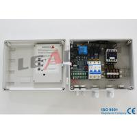 Single Pump Motor Control Panel , 3 Phase Mobile Operated Water Pump Starter Manufactures