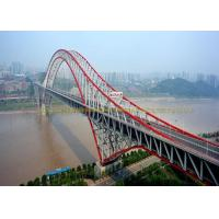 China Customized Single Lane Double Lane Steel Bridge Structure Cold Rolled on sale