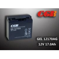 GEL12170AG GEL Technical rechargeable lead acid battery 12vdc 17ah For Solar System Manufactures