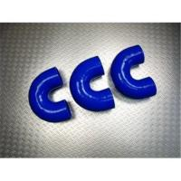 China Temperature Resistance Blue 180° Silicone Rubber Hose Elbow for Intercooler Connection on sale