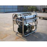 Electric Operation Sea Water Purifier Plant , Saltwater To Drinking Water Machine            Manufactures