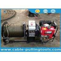 3 Ton Fast Speed Diesel Engine Cable Pulling and Hoisting Winch Machine Manufactures