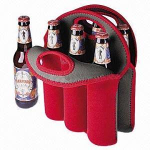 China Wine Cooler Bag, Three Bottles Wine Bag, OEM Accepted on sale