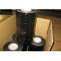 Black Aluminium Foil Tape For Wrapping Of Insulation Covered Pipes And Tanks Manufactures