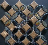 Glazed Glass Floor Mosaic Manufactures