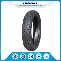TR13 Valve Motor Cycle Tires , Rear Motorcycle Tire 110/90-16 Good Traction Manufactures